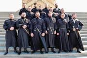 Der Didgori-Chor aus Georgien, der am Obwald dieses Jahr auftritt. (Bild: PD)