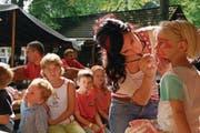 Der traditionelle Kindernachmittag für Familien findet auch dieses Jahr wieder statt. (Bild: Markus von Rotz (Alpnach, 18. August 2007))