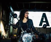 Anja Tschopps Leben dreht sich um Motorräder. (Bild: PD)