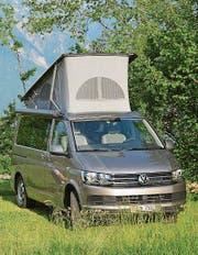 Ein Camper des Typs VW T6 California, wie ihn die junge Firma Citypeak vermietet. (Bild: PD)