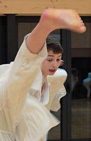 Der 15-jährige Krienser Elio Romano hat das Finalturnier im Herbst im Blickfeld. (Bild: PD)