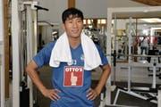 Il-Gwan Jong (Rimyongsu/Nordkorea). (Bild: Martin Meienberger/freshfocus)