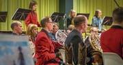 Die Feldmusik Altdorf überzeugte mit viel Herzblut und grossem musikalischem Engagement. (Bild: Marlies Planzer (Altdorf, 4. November 2017))