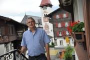 Pfarrer Wendelin Bucheli ist glücklich, weiterhin Seelsorger in der Pfarrei Bürglen bleiben zu können. (Bild: Urs Hanhart / Neue UZ)
