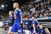 Der neue FCL-Spielmacher Markus Neumayr wird heute gegen Vaduz ohne blonde Mähne antreten. (Bild: Freshfocus/Martin Meienberger)
