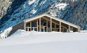 Im Winter wird das Golf-Clubhaus jeweils zum Nordic House für Langläufer umgestaltet. (Bild: Valentin Luthiger (Andermatt, Dezember 2017))