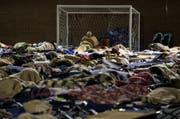 Bewohner fanden in dieser temporären Unterkunft Zuflucht nach dem Erdbeben in Mittelitalien. (Bild: Massimo Percossi/ANSA via AP)