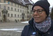 Nadja Räss im Interview. (Bild: Tele1)
