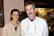 Das Wirtepaar Monika und Mike Zumstein. (Bilder Romano Cuonz)