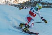 Betreibt seit 2010 den Telemarkrennsport: Beatrice Zimmermann. (Bild: Swiss-Ski (Saas-Fee, 18. November 2017))