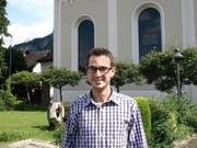 Steffen Michel arbeitet seit 1. Mai 2015 als Gemeindetheologe in der katholischen Pfarrei Hergiswil. (Bild Kurt Liembd)
