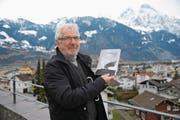 Peter Arnold erinnert sich in seinem Buch an seine Kinder- und Jugendzeit in Schattdorf. (Bild: Urs Hanhart (Schattdorf, 1. März 2018))