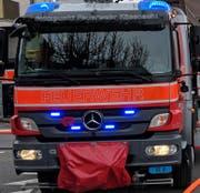 Löscheinsatz für die Küssnachter Feuerwehr am ersten Tag im neuen Jahr. (Archivbild Bote der Urschweiz)