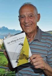 Marcel Bolfing erzählt von seinem aussergewöhnlichen Berufsalltag. (Bild: Edith Meyer)