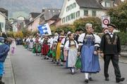 Impressionen von der Buochser Älplerchilbi: Umzug durchs Dorf. (Bild: André A. Niederberger)