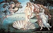 Entgegen dem Bildtitel hat Botticelli nicht die Geburt der Venus dargestellt, sondern ihre Ankunft auf Zypern. (Bild: PD)