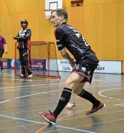 Hat den Fokus Richtung Halbfinals gerichtet: Ad-Astra-Spieler Jonas Höltschi. (Bild: Simon Abächerli)