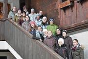 Sie sind Anfang Jahr in den Kurs 2018 der Bäuerinnenschule Gurtnellen gestartet. (Bild: PD (Gurtnellen, Januar 2018))