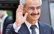 Prinz al-Waleed bin Talal und andere Angehörige der saudischen Elite wurden Ende 2017 festgenommen. (Bild: Mustafa Yalcin/Getty (Paris, 8. September 2016))