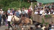 Auch das Jodelchörli Sattel war dabei. (Bild: Youtube)