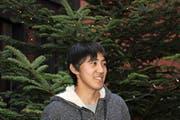 Kenta Kanda hat für sein Austauschjahr zum ersten Mal seine Heimat Japan verlassen. (Bild Nadja Häcki)