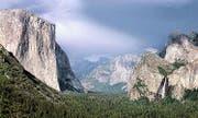 Blick ins Yosemite Valley. Yosemite ist einer der meistbesuchten Nationalparks der USA. (Bild: pd)