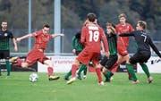 Luzerner SC setzt sich an der Tabellenspitze fest (Bild: Manuela Jans-Koch (Stans, 7. Oktober 2017))