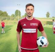 Stieg letzte Saison zum Captain des FC Sursee auf: der 27-jährige Samuel Huber. (Bild cb)
