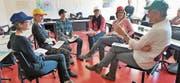 Die Obwaldner Lehrpersonen konnten unter zahlreichen Workshops auswählen. Bild: Romano Cuonz (Sarnen, 17. März 2017)