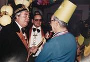 Georges Burch 1991 als Zunftmeister. (Bild: Archvil Lälli-Zunft)