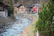 Bis in Erstfeld eine Lösung für die Nutzung des Alpbachs gefunden worden ist, dürfte noch viel Wasser bis ins Tal hinunter fliessen. (Bild: Urs Hanhart (31. Januar 2018))