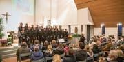Die Monday Singers an einem ihrer Konzerte. (Bild: PD)