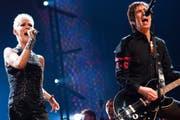Marie Frederiksson und Per Gessle haben als Roxette weltweit Millionen Schallplatten verkauft. (Bild: wikipedia.org/Colinvdbel)