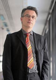 Moritz Kraemer, Chefanalyst bei Standard & Poor's. (Bild: Simon Dawson/Getty (London, 28. Februar 2012))