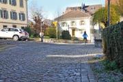 Das Gebiet Nägeligasse, Knirigasse, St.-Klara-Rain: Hier fahren bei einem Ja an der Gemeindeversammlung bald die Baumaschinen auf. (Bild Matthias Piazza)
