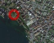 Der Vorfall ereignete sich beim Pumpenhäuschen am See. (Bild: Google Maps)