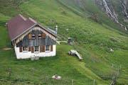 Das Haus auf der Alp. (Bild: Corinne Glanzmann)