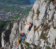Anspruchsvoller Aufstieg zum Adlerspitz. (Bild: FotoDive)