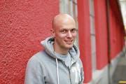 Sascha Imholz ist Spielertrainer beim FC Gunzwil und will diese Saison mit seinem Team aufsteigen. (Bild: Florian Arnold (Altdorf, 21. März 2017))