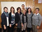 Von links: Christine Betschart, Pia Furrer, Pia Huber, Charlotte Zberg, Elsbeth Walker, Anita Walker und Ester Infanger. (Bild: PD (Erstfeld, 22. 2. 18))