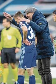 Markus Babbel vertraut jungen Spielern wie Silvan Sidler auch in ganz wichtigen Partien. (Bild: Philipp Schmidli (Luzern, 5. November 2017))