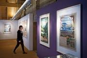 Die soeben zu Ende gegangene Ausstellung ««Reklamekunst und Reiseträume» im Talmuseum Engelberg (Bild: Corinne Glanzmann (Engelberg, 5. Dezember 2017))