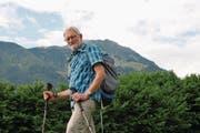 Koni Lüönd leitet Wandertouren aus Leidenschaft. (Bild: Matthias Piazza (Stans, 10. Juli 2017))