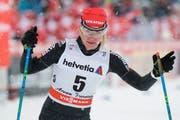 Nadine Fähndrich: «Vielleicht hatte ich zu viel Respekt» (Bild: Peter Schneider/Keystone (Lenzerheide, 30. Dezember 2017))