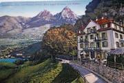 Eine historische Postkarte von Seelisberg. (Bild: PD)