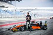Startet Mitte April im deutschen Oschersleben in die Formel-4-Saison: der 19-jährige Moritz Müller-Crepon, hier auf dem Lausitzring (GER). (Bilder Franz Venzin)