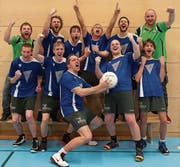 Nach neun ununterbrochenen Spielzeiten in der 2. Liga gelingt dem STV Buochs zum 40-Jahr-Jubiläum die Rückkehr in die 1. Liga. (Bild: PD (Willisau, 19. Februar 2017))