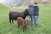 Wisi und Angelika Zgraggen halten in Erstfeld eine Dexter-Herde mit rund 130 Tieren. (Bild: Christoph Hirtler, Altdorf)