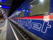 Die Österreichischen Bundesbahnen übernehmen einen Teil der Nachtzüge der Deutschen Bahn und bieten auch von der Schweiz aus Nachtverbindungen an. (Bild: Keystone/APA/WEGSCHEIDER)