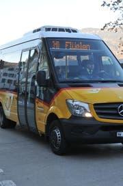 In Beckenried fährt der Bus nach Flüelen los. (Bild: Archiv / Neue NZ)
